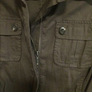 Cabi Button Up Army Green Jacket
